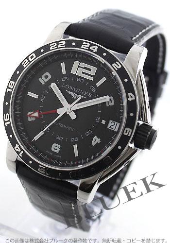 Jin Ron admiral automatic GMT alligator leather black men L3.668.4.56.2