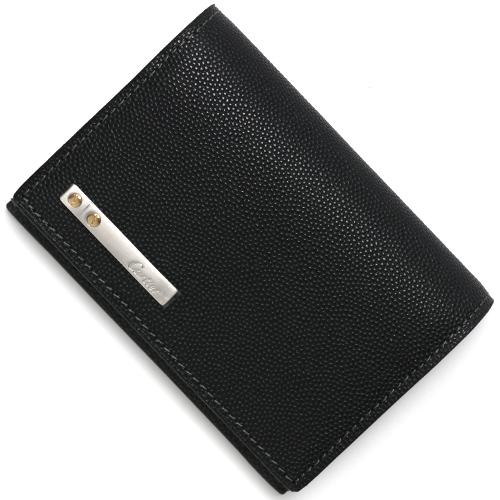 カルティエ カードケース メンズ サントス 【SANTOS】 ブラック L3000771 CARTIER