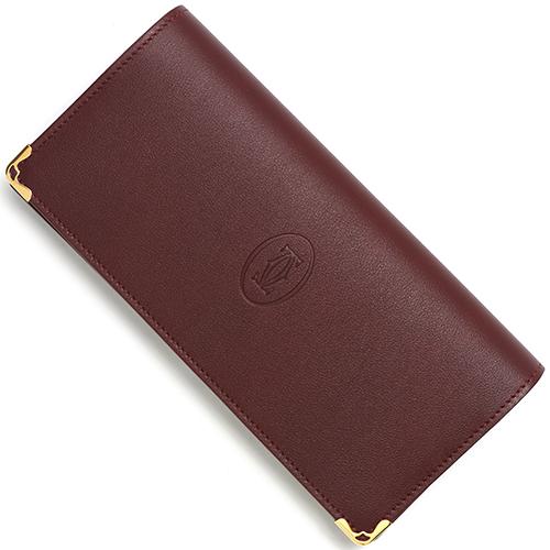 カルティエ 長財布 財布 メンズ レディース マストライン ボルドー L3001362 CARTIER