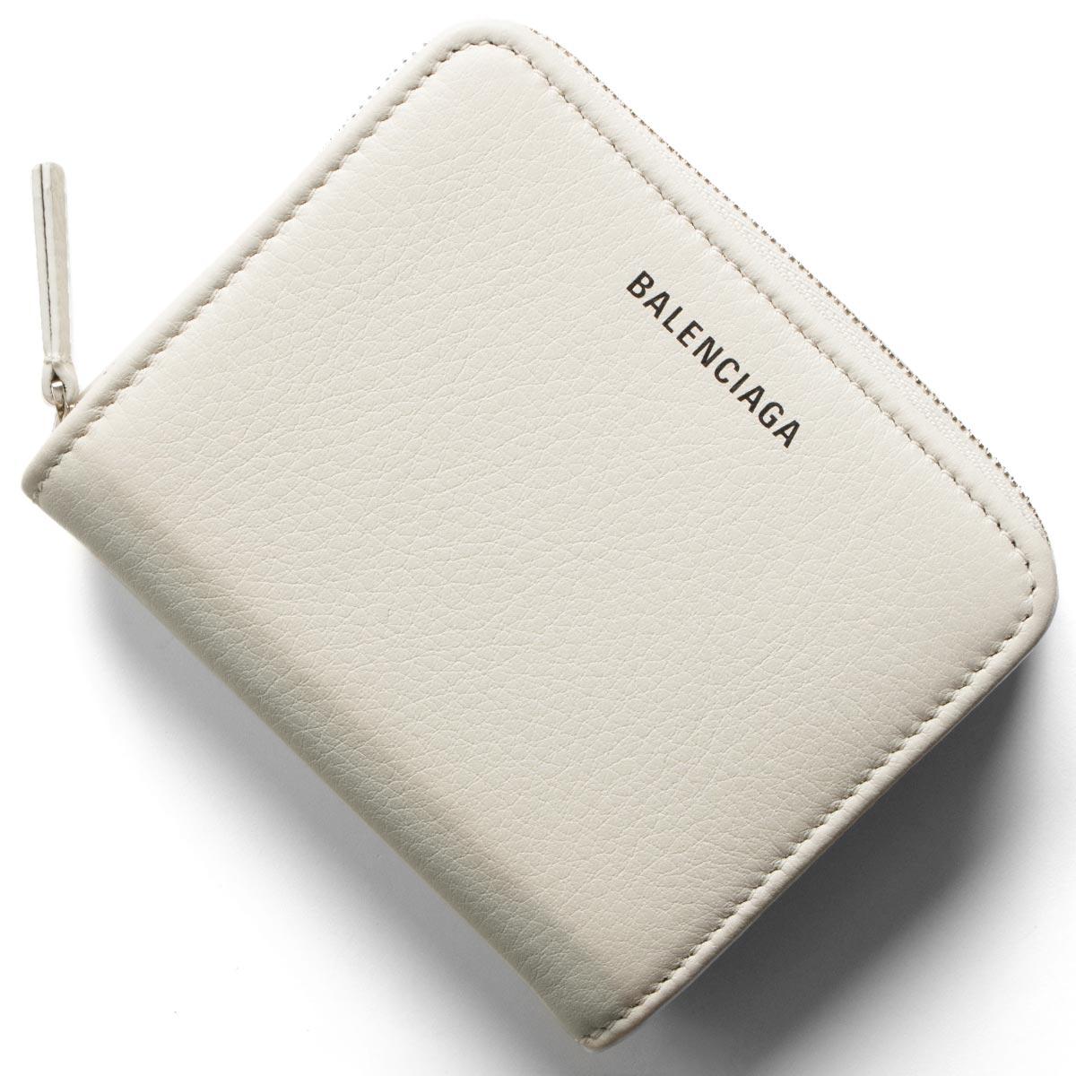 e16225272bb6 551933 フルラ DLQ0N 1209 BALENCIAGA バレンシアガ 二つ折り財布 財布 レディース エブリディ ビルフォールド  ホワイト&ブラック セリーヌ お買い得
