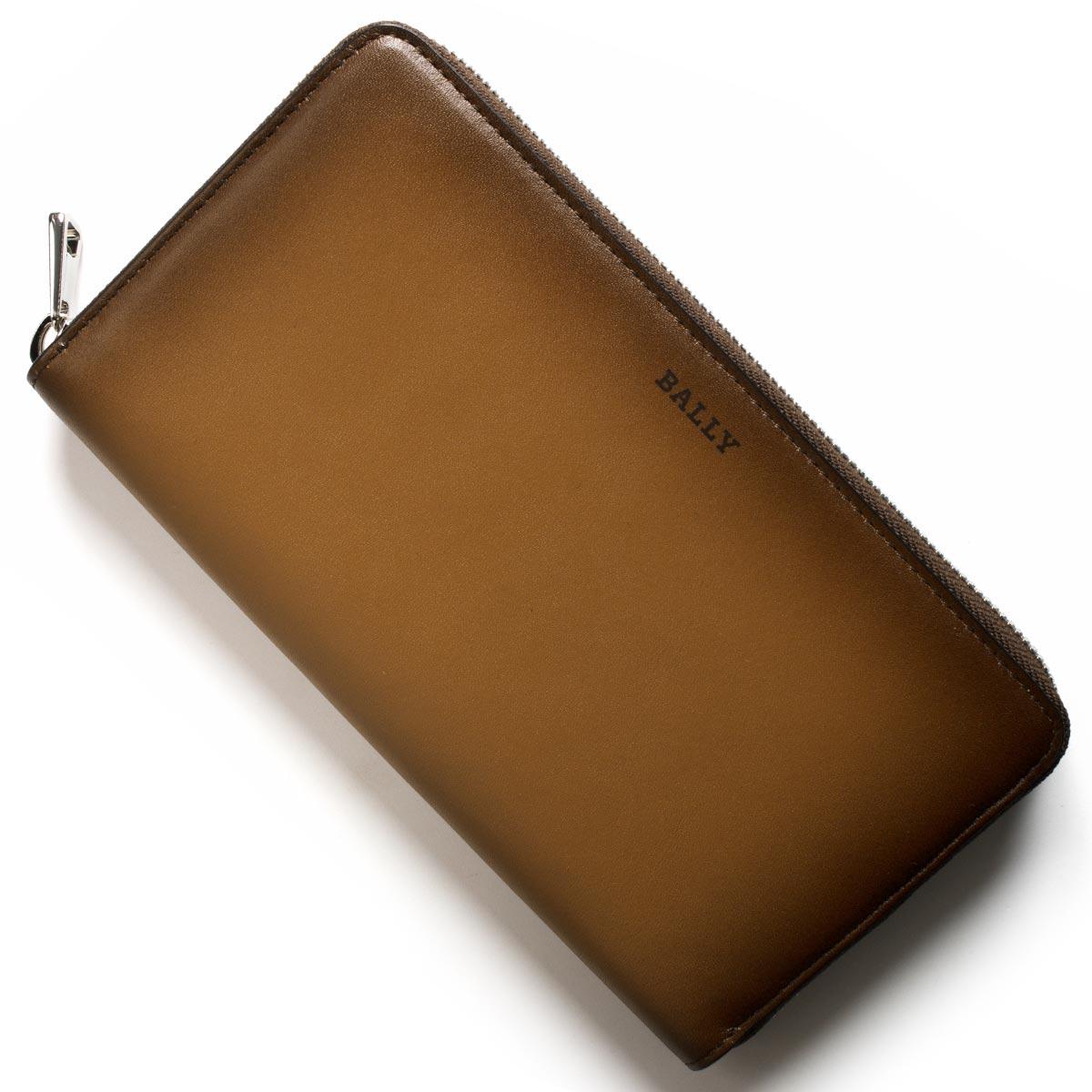 バリー 長財布 財布 メンズ セレン グラデーション カウボーイブラウン SELEN S 01 6221969 BALLY