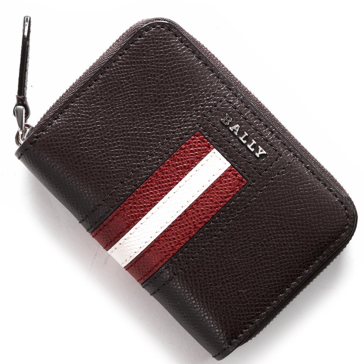 [送料無料]バリー BALLY 財布 コインケース【小銭入れ】 TIVYLT 21 【新品】 バリー コインケース【小銭入れ】 財布 メンズ ティヴィー TIVY コーヒーブラウン TIVYLT 21 6221825 BALLY