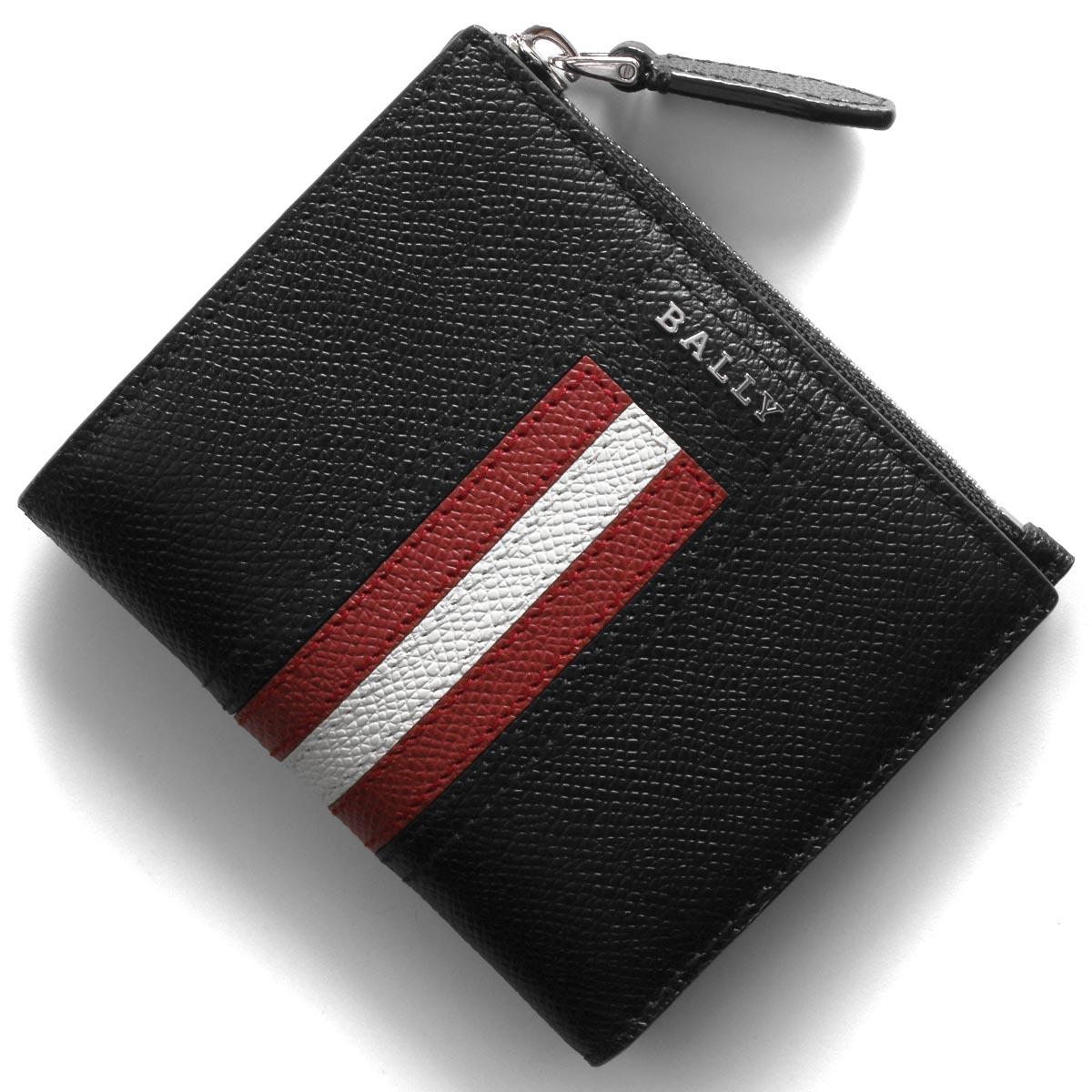 バリー 二つ折り財布 財布 メンズ レディース トゥナー ブラック TUNNER LT 10 6229036 2019年秋冬新作 BALLY