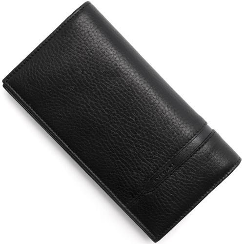 ブルガリ 長財布 財布 メンズ オクト 【OCTO】 ブラック 36966 BVLGARI