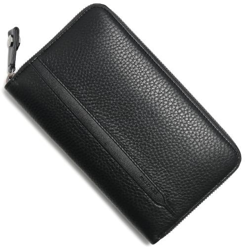 ブルガリ 長財布 財布 メンズ オクト 【OCTO】 ブラック 36968 BVLGARI
