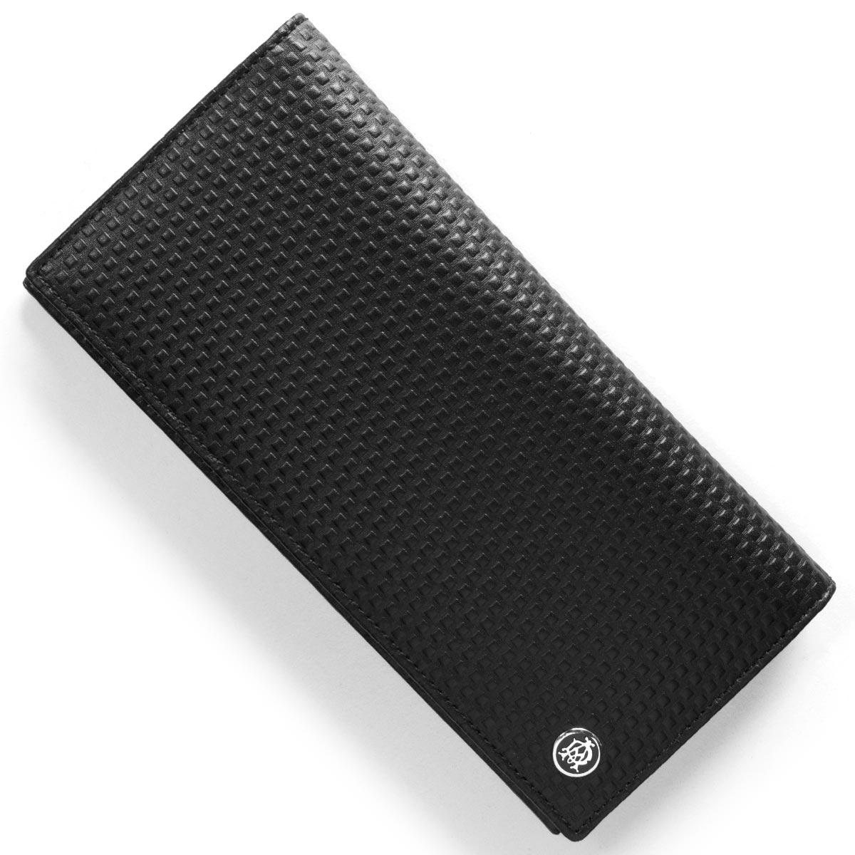 ダンヒル 長財布 財布 メンズ マイクロ ディーエイト D-EIGHT ブラック L2V312 A DUNHILL
