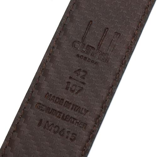 0ee3f0fffef5 ダンヒル DUNHILL. ベルト シャーシ 【CHASSIS】 リバーシブル ブラック HPJ850 A 42 メンズ