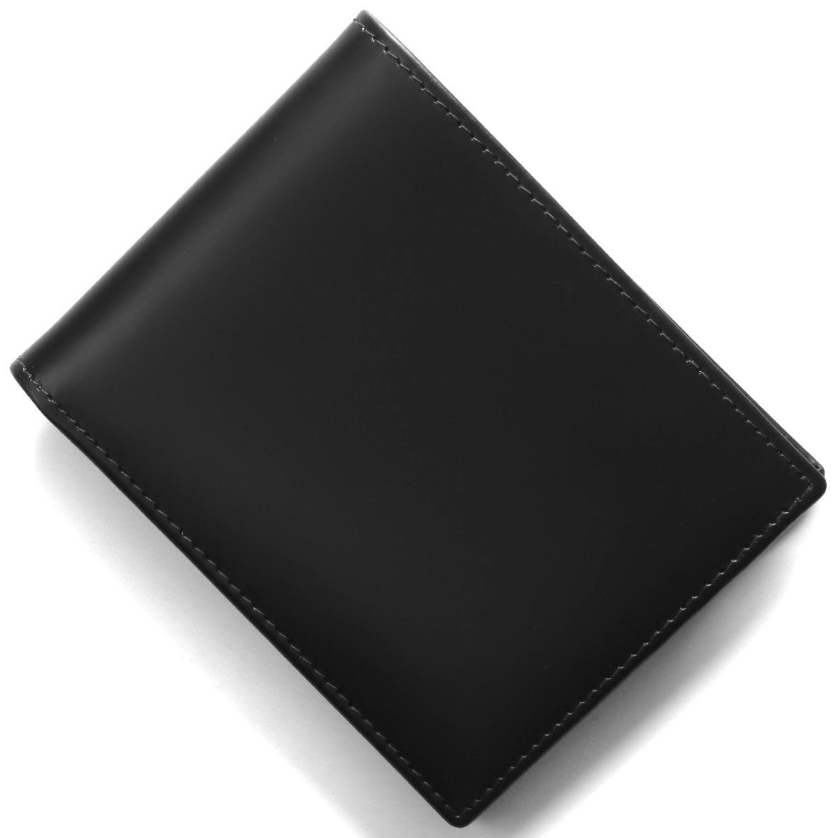 エッティンガー 二つ折り財布 財布 メンズ ブライドル ブラック&パネルハイドイエロー 141JR BH BLACK ETTINGER