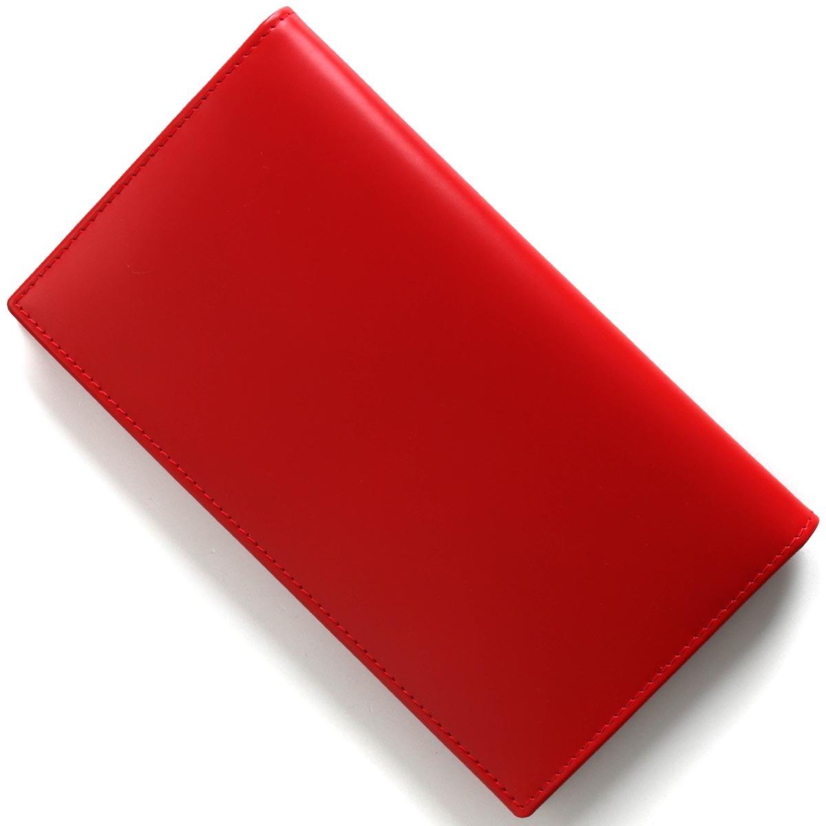 エッティンガー 長財布【札入れ】 財布 メンズ ブライドル レッド&パネルハイドイエロー 806AJR BH RED ETTINGER