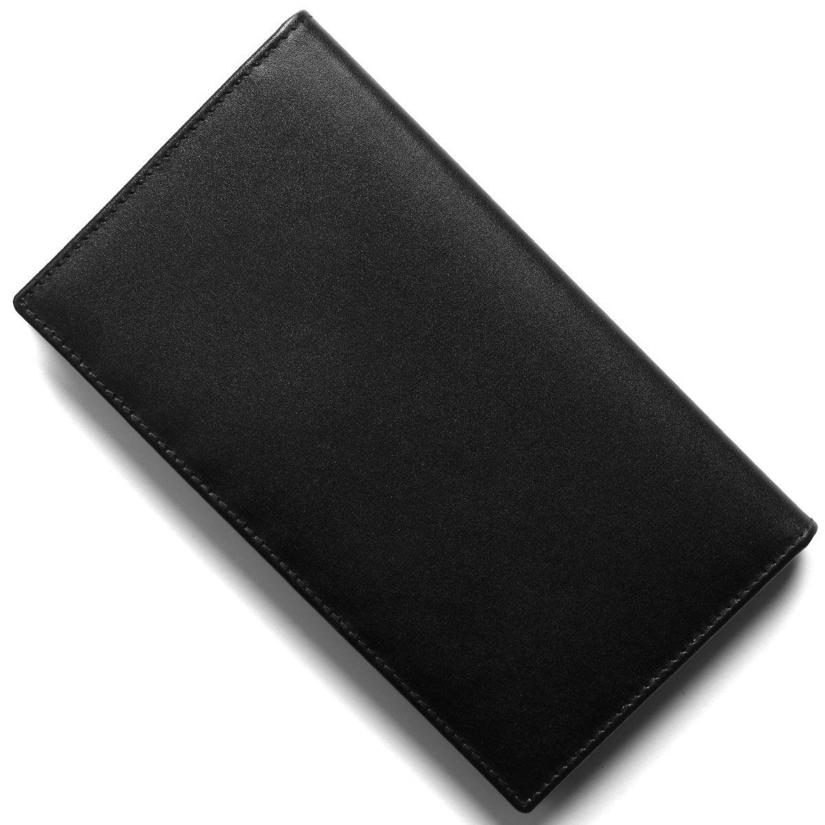エッティンガー 長財布(札入れ) 財布 メンズ スターリング ブラック&パープル 806AJR ST PURPLE ETTINGER