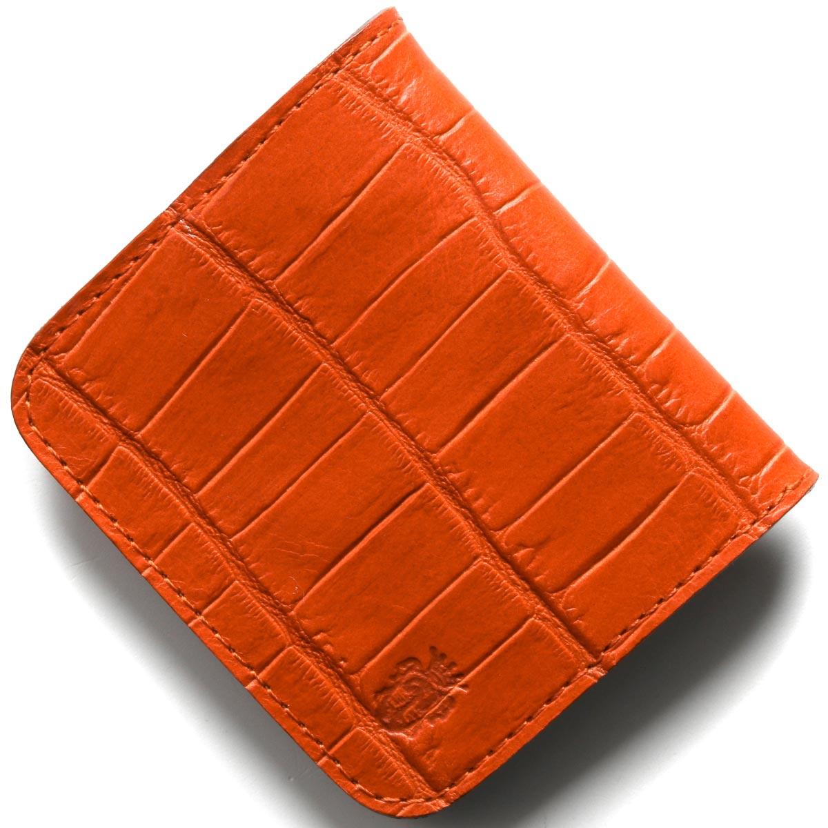 フェリージ コインケース(小銭入れ) 財布 メンズ クロコ型押し アランチョオレンジ 914 SA 0009 FELISI
