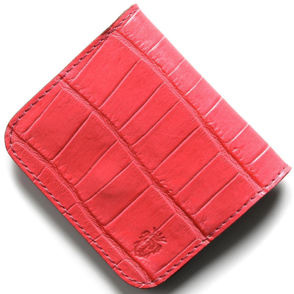 フェリージ コインケース(小銭入れ) 財布 メンズ クロコ型押し フクシアピンク 914 SA 0031 FELISI