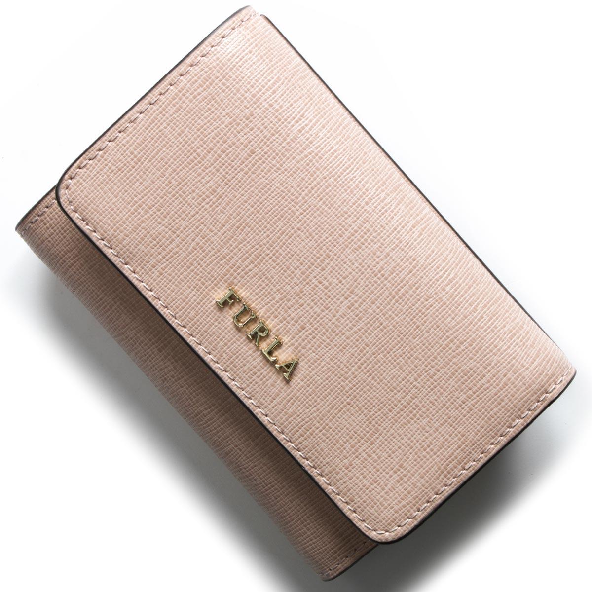 フルラ 三つ折り財布 財布 レディース バビロン ムーンストーンベージュ PR76 B30 6M0 FURLA