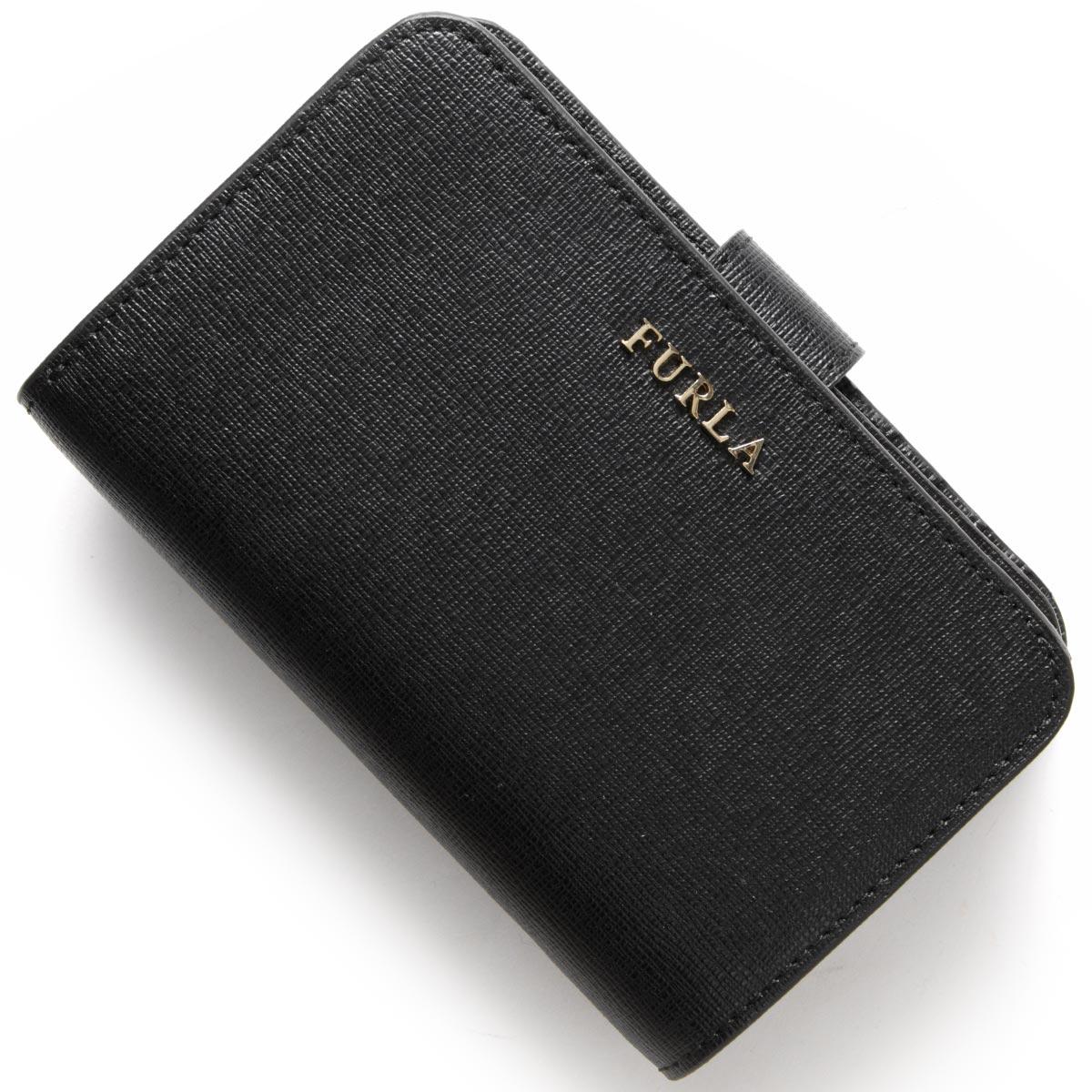 フルラ 二つ折り財布 財布 レディース バビロン ブラック PR85 B30 O60 FURLA