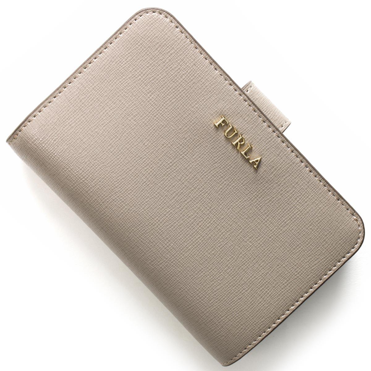 フルラ 二つ折り財布 財布 レディース バビロン BABYLON サッビアグレー PR85 B30 SBB 872838 FURLA