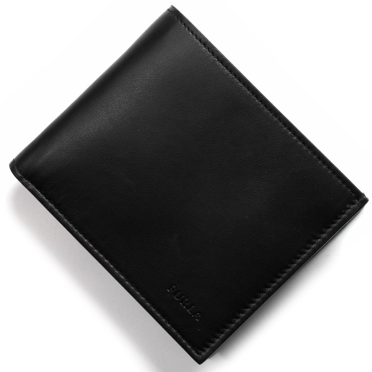 フルラ 二つ折り財布 財布 メンズ メン アポロ MAN APOLLO ブラック PQ37 100 O60 901999 2018年春夏新作 FURLA