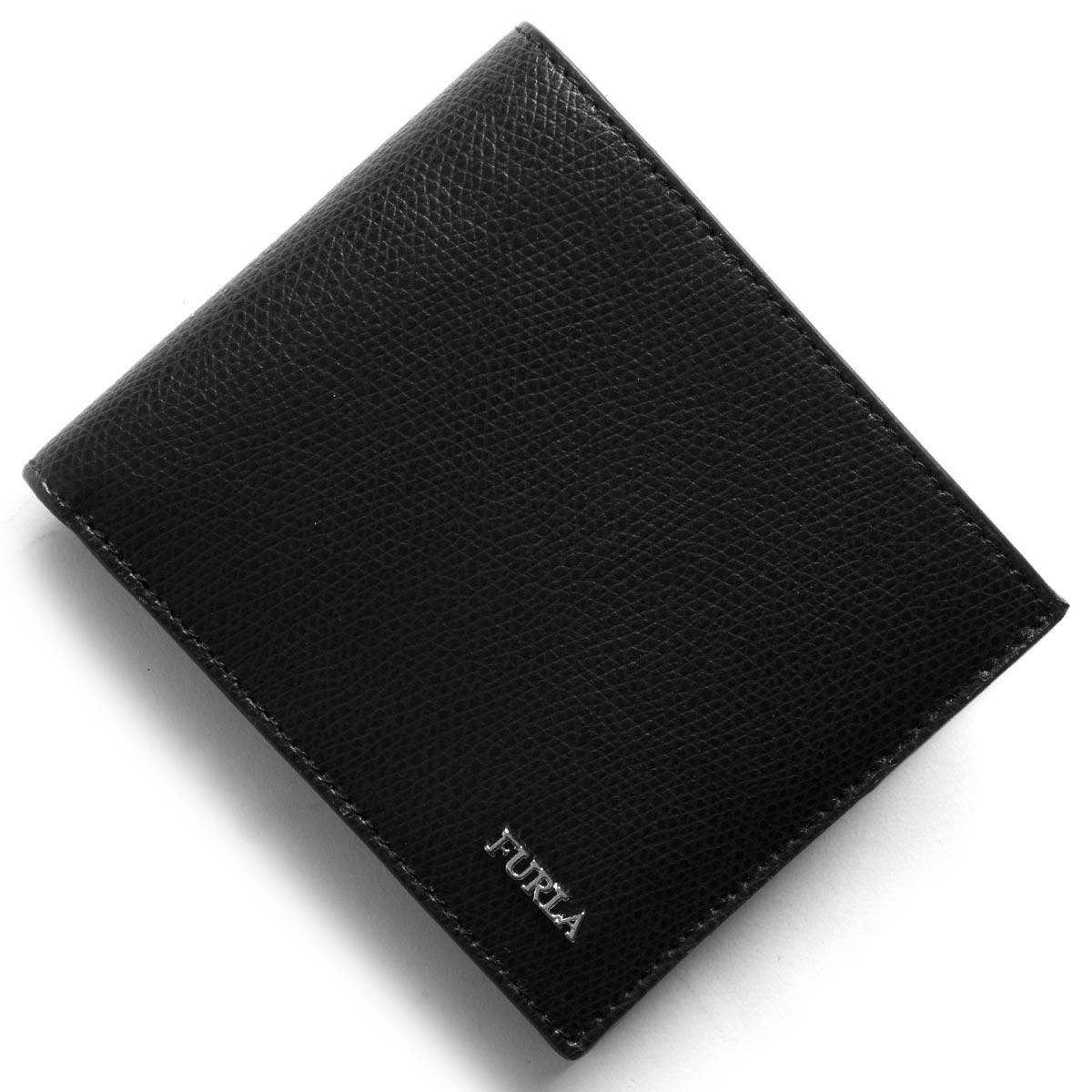 フルラ 二つ折り財布 財布 メンズ マルテ ブラック PT00 ATT O60 902054 FURLA