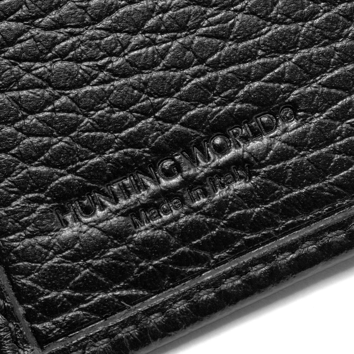 ハンティングワールド二つ折り財布財布メンズバチューオリジンBATTUEORIGINブラック31013AHUNTINGWORLD