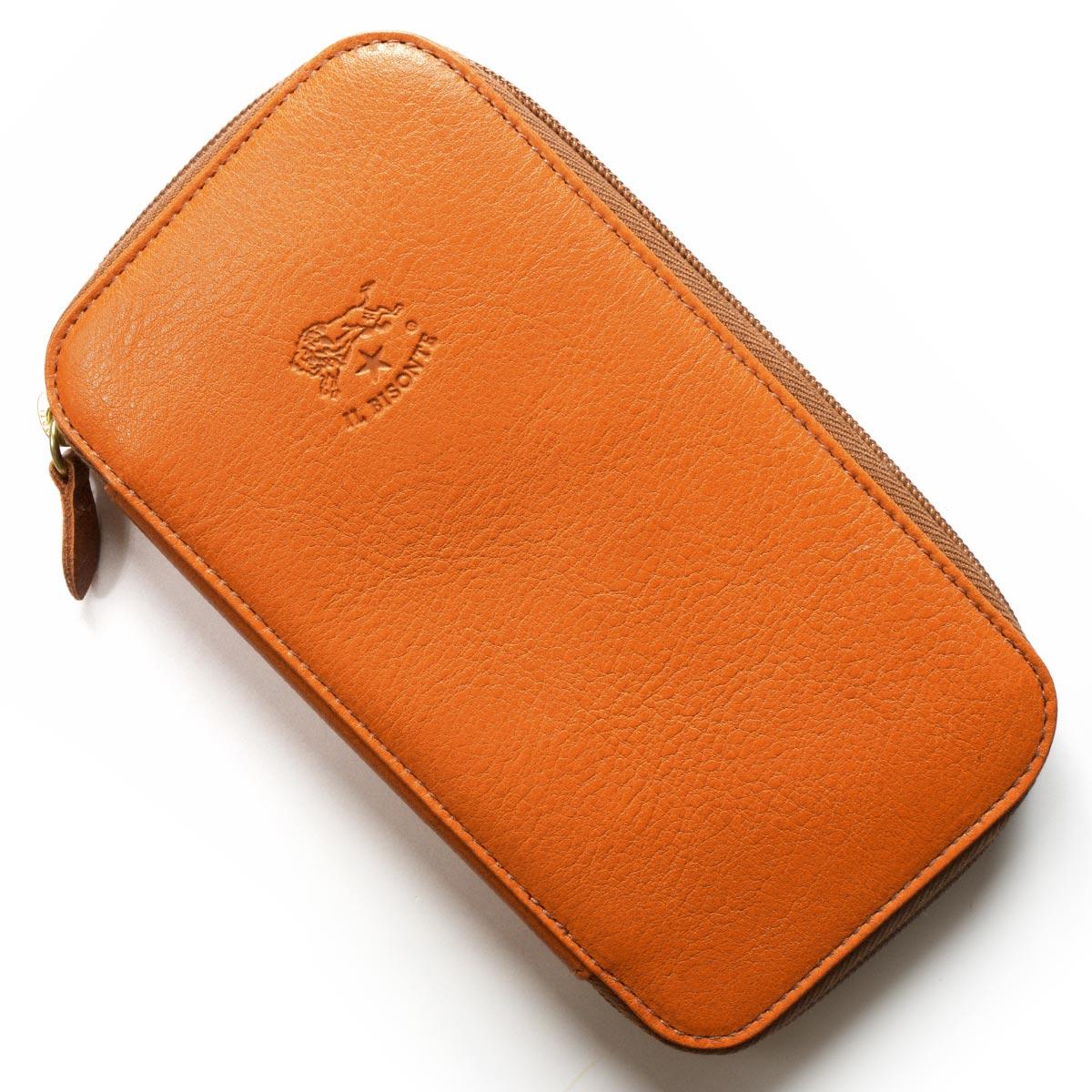 イルビゾンテ 長財布 財布 メンズ レディース スタンダード オレンジ C0443 P 166 IL BISONTE