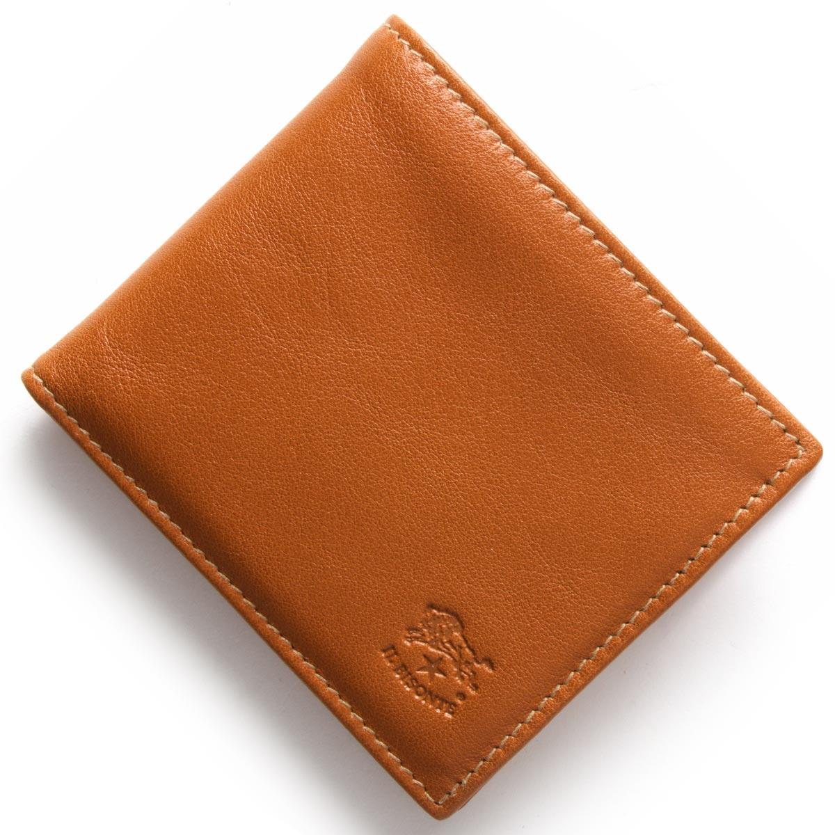 イルビゾンテ 二つ折り財布 財布 メンズ スタンダード STANDARD キャラメルブラウン C0487 MP 145 IL BISONTE