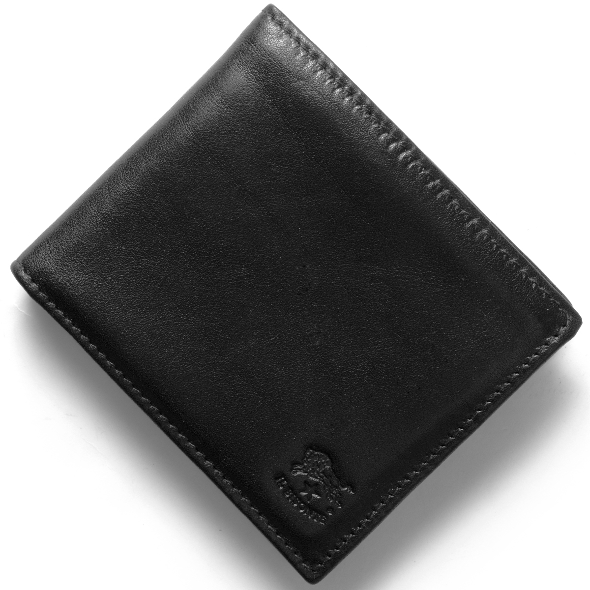 イルビゾンテ 二つ折り財布 財布 メンズ レディース スタンダード 【STANDARD】 ブラック C0817 P 153 IL BISONTE