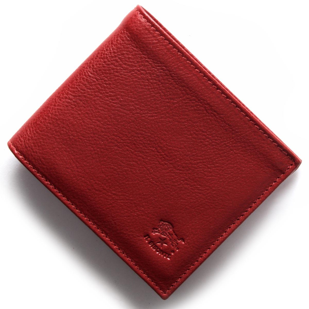 イルビゾンテ 二つ折り財布 財布 メンズ レディース スタンダード STANDARD ロッソレッド C0817 P 245 IL BISONTE