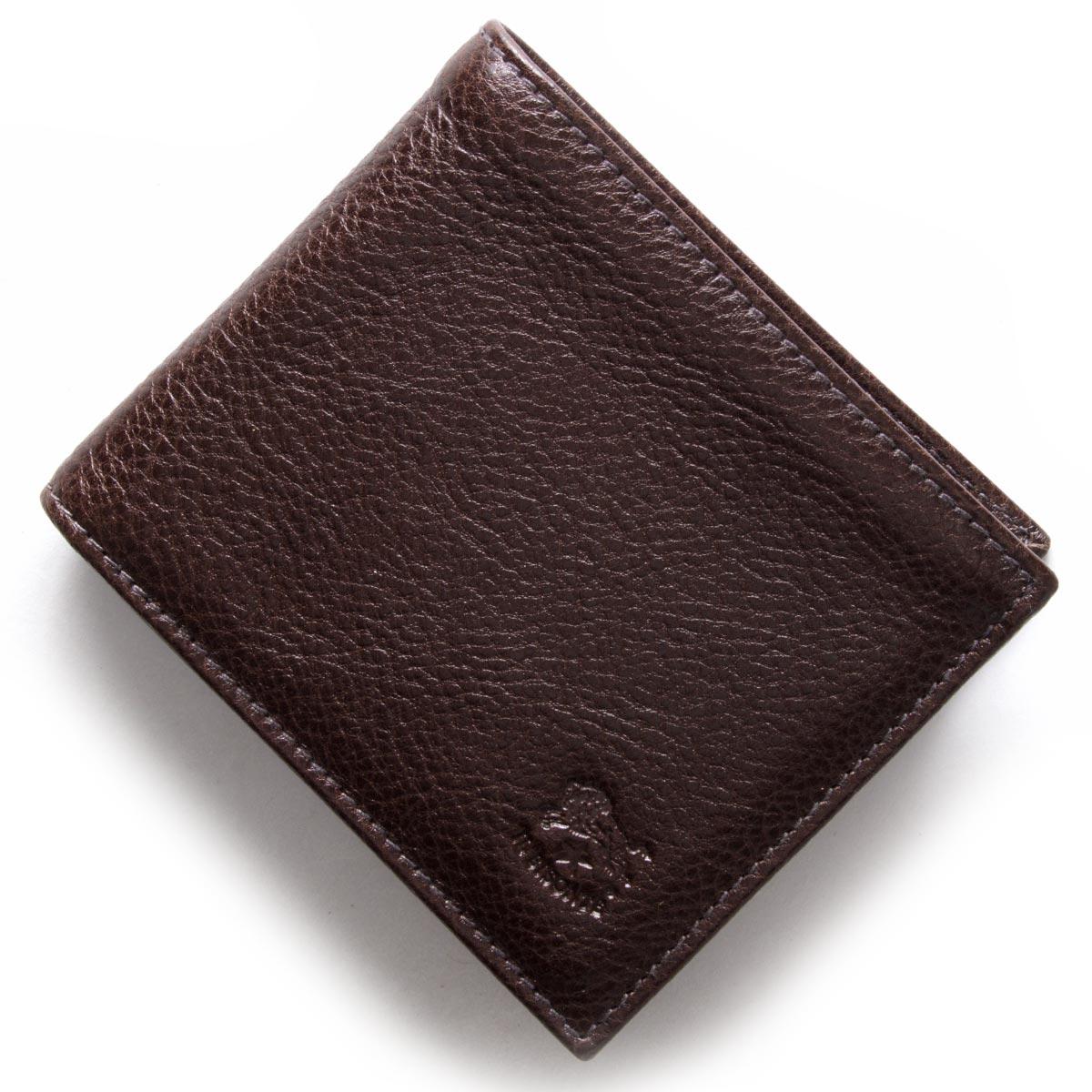 イルビゾンテ 二つ折り財布 財布 メンズ レディース スタンダード STANDARD モカブラウン C0817 P 455 IL BISONTE