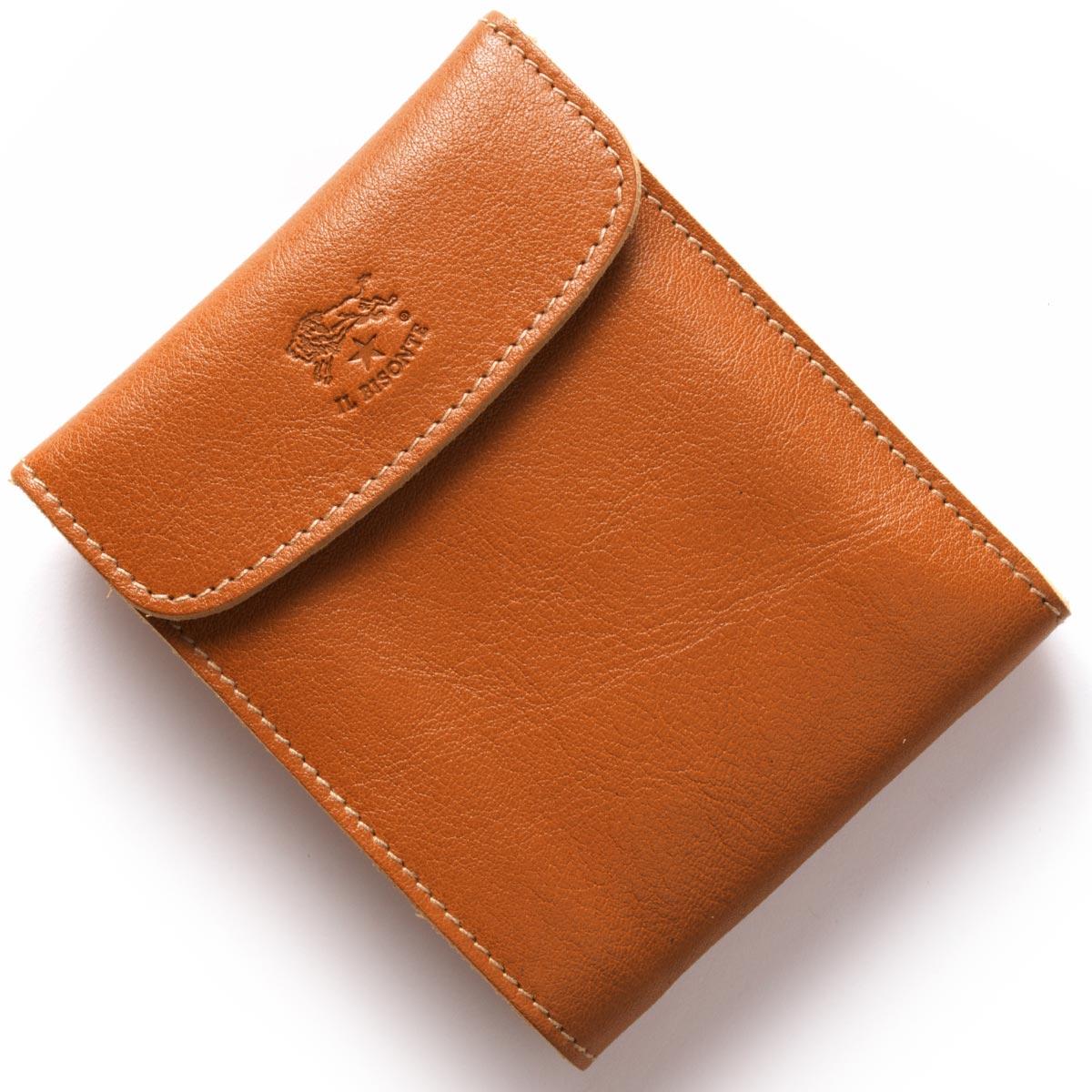 イルビゾンテ 三つ折り財布 財布 メンズ レディース スタンダード STANDARD キャラメルブラウン C0976 P 145 IL BISONTE