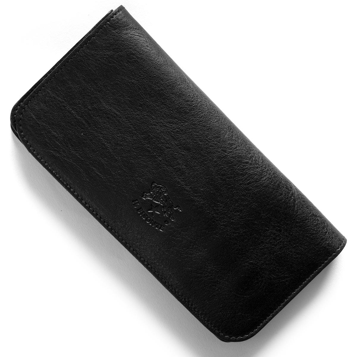 イルビゾンテ 長財布 財布 メンズ レディース スタンダード STANDARD ブラック C0985 P 153 IL BISONTE