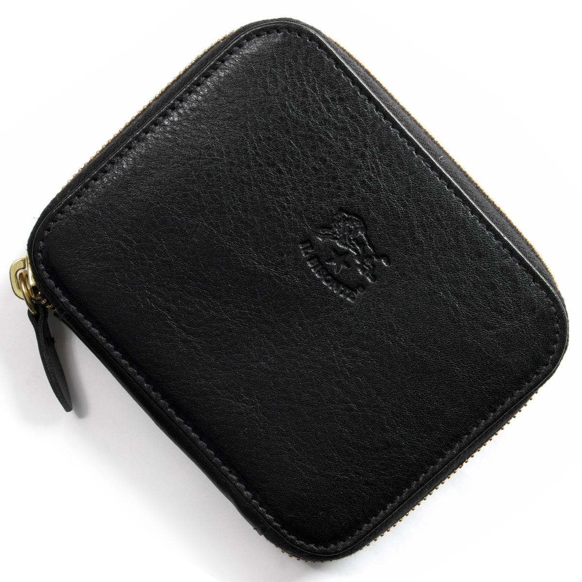 イルビゾンテ 二つ折り財布 財布 メンズ レディース スタンダード ブラック C1006 P 153 IL BISONTE