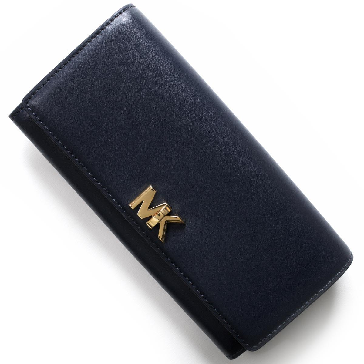 マイケルコース 長財布 財布 レディース モット MOTT アドミラルブルー 32T7GOXE3L 414 MICHAEL KORS