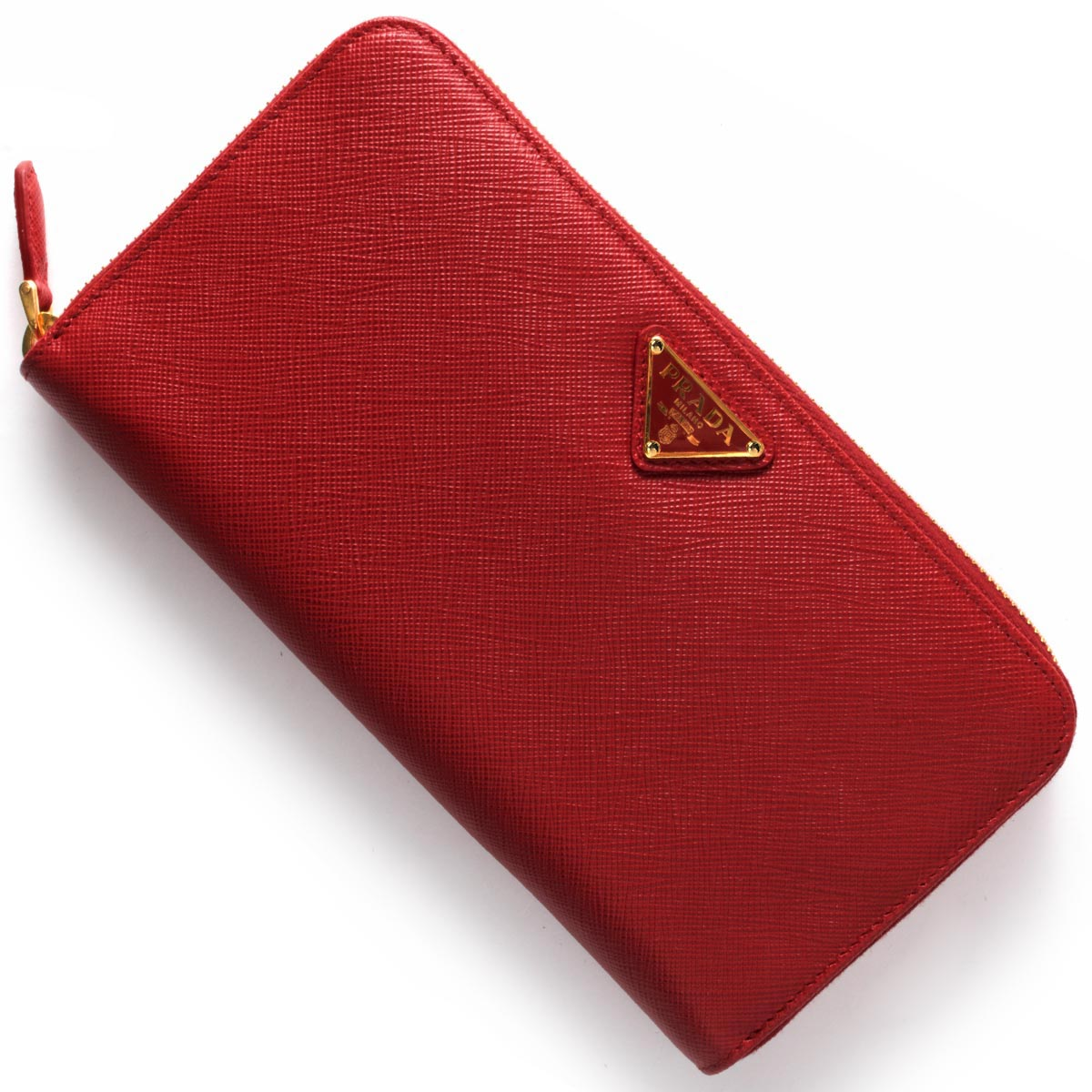 プラダ 長財布 財布 レディース SAFFIANO TRIANG 三角ロゴプレート フォーコレッド 1ML506 QHH F068Z PRADA