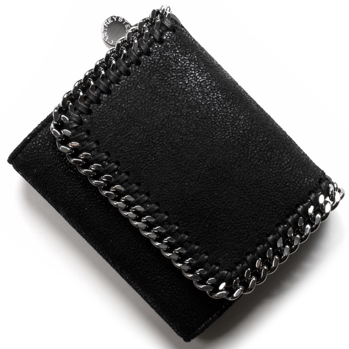 ステラマッカートニー 三つ折り財布 財布 レディース ファラベラ スモール フラップ ブラック 431000 W9132 1000 STELLA McCARTHNEY
