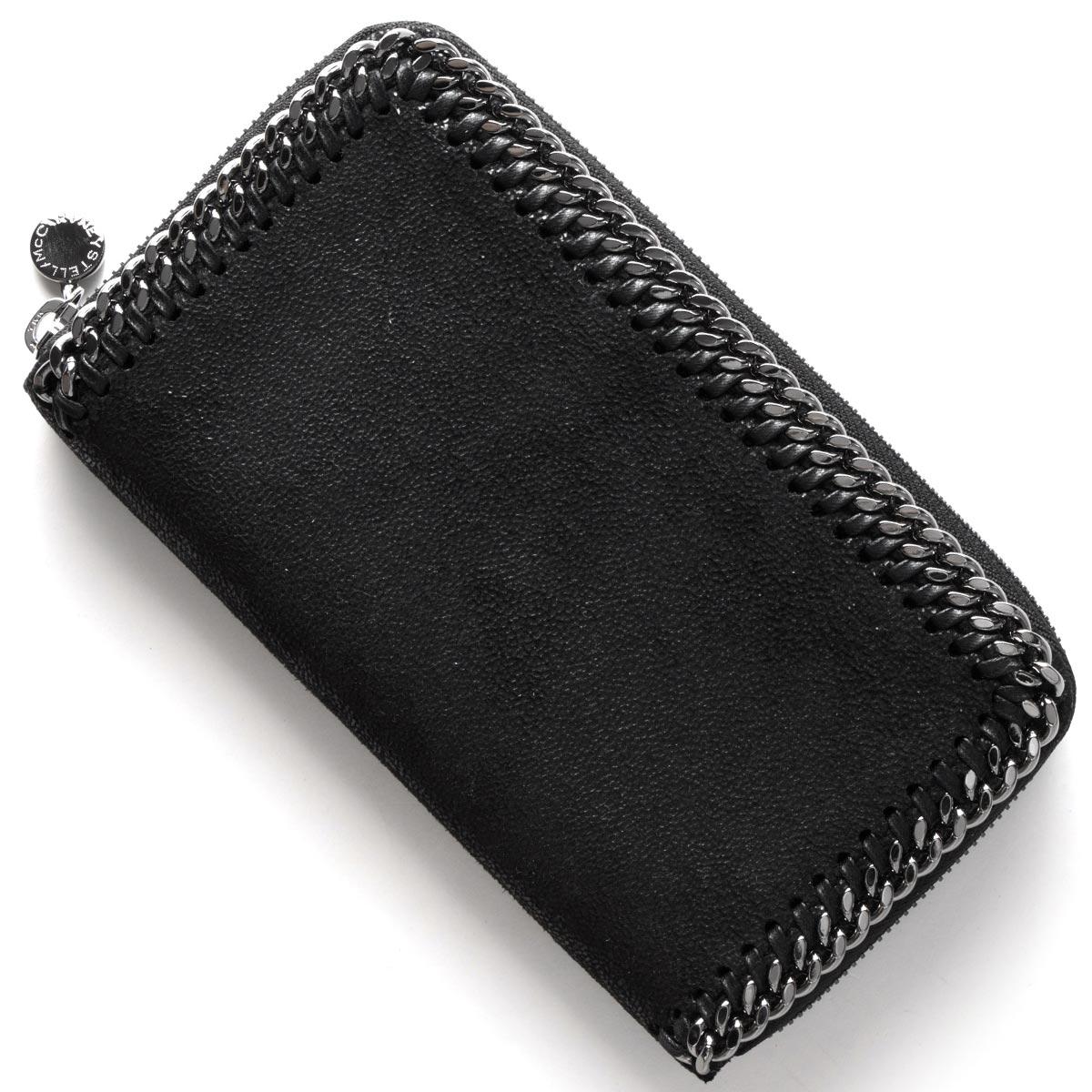 ステラマッカートニー 長財布 財布 レディース ファラベラ FALABELLA ブラック 434750 W9132 1000 STELLA McCARTHNEY