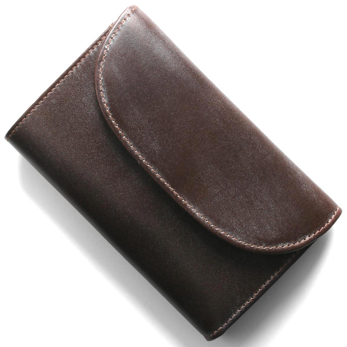 ホワイトハウスコックス 三つ折り財布 財布 メンズ エイジング ハバナブラウン&ニュートンブラウン S1112 HAVANA NEWTON WHITEHOUSE COX