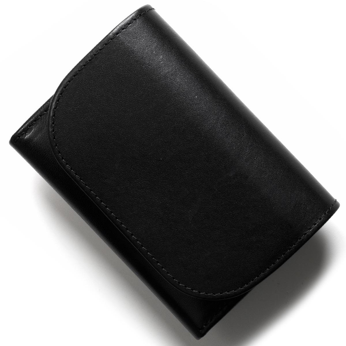 ホワイトハウスコックス コインケース【小銭入れ】/ミニ財布 財布 メンズ ブラック S1884 BLACK 2018年春夏新作 WHITEHOUSE COX