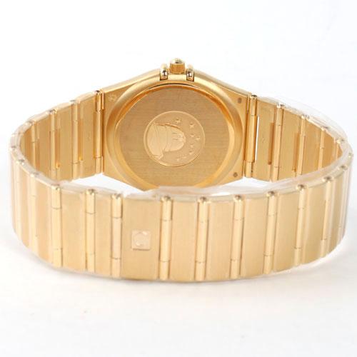 1112.10 オメガコンステレーション YG pure gold gold men