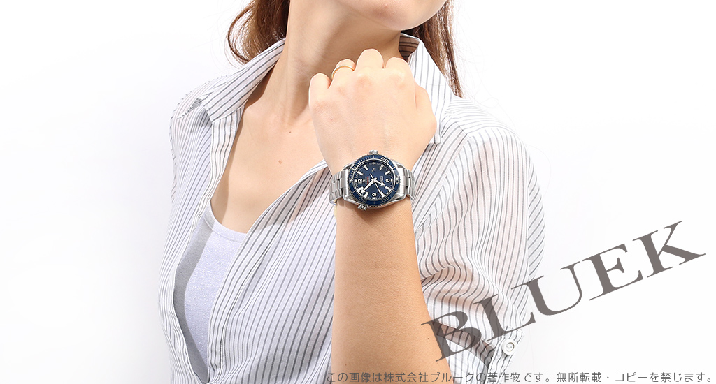 오메가 Omega 시 마 스타 플래닛 오션 레이디스 232.90.38.20.03.001 시계 시계