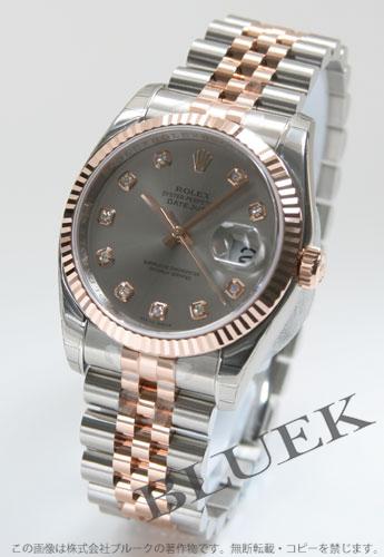 Rolex Rolex date just men Ref.116231G watch clock