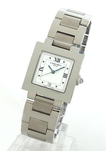 ショーメカレホワイトレディース W04635-040 watch clock