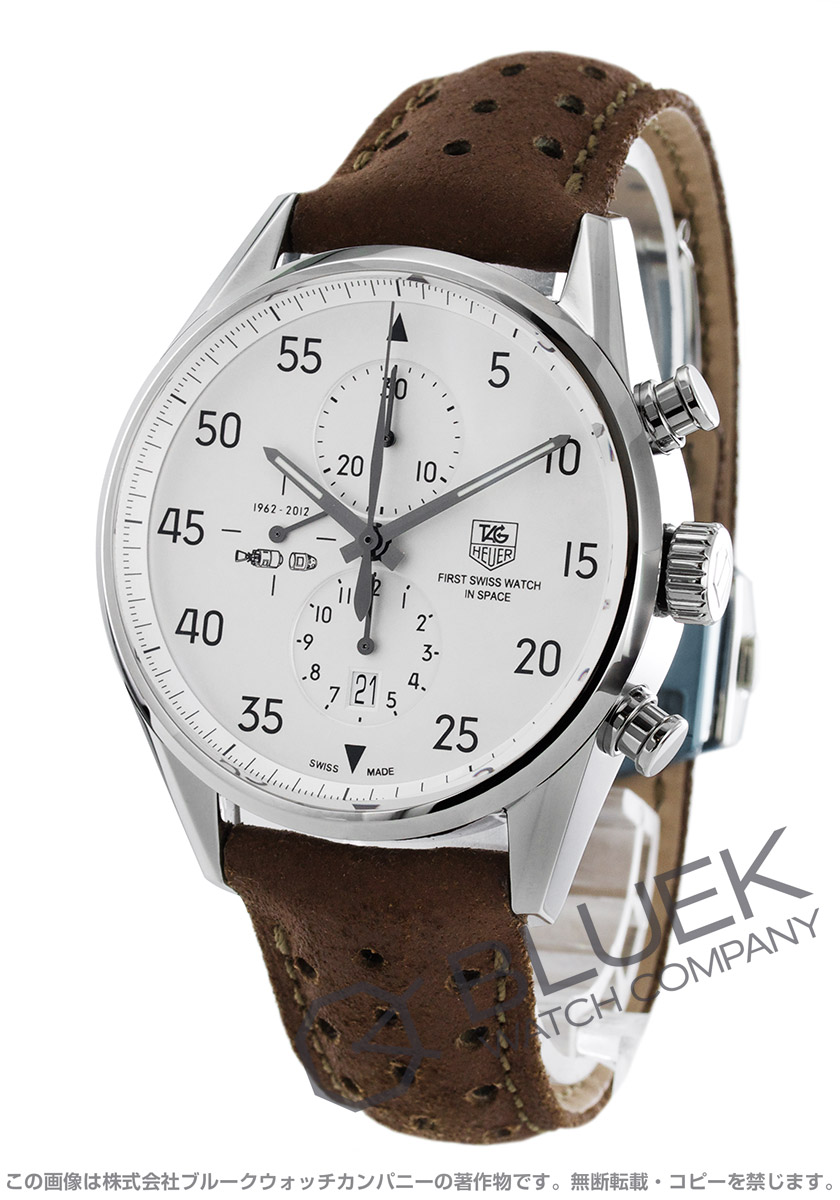 Tag Heuer TAGHeuer Carrera 1887 chronograph space X world limited edition 2012 men's CAR2015. FC6321
