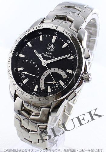 タグホイヤーリンクキャリバー S chronograph tachymeter black men CJF7112.BA0596