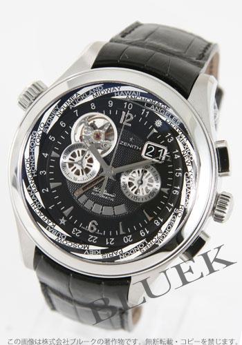 Zenith ZENITH El Primero alligator leather mens 03.0520.4037/22.C660 watch clock