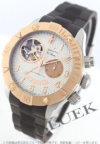 Zenith ZENITH エルプリメロデファイクラシック pure gold 300m waterproofing men 86.0516.4021/01.R650 watch clock