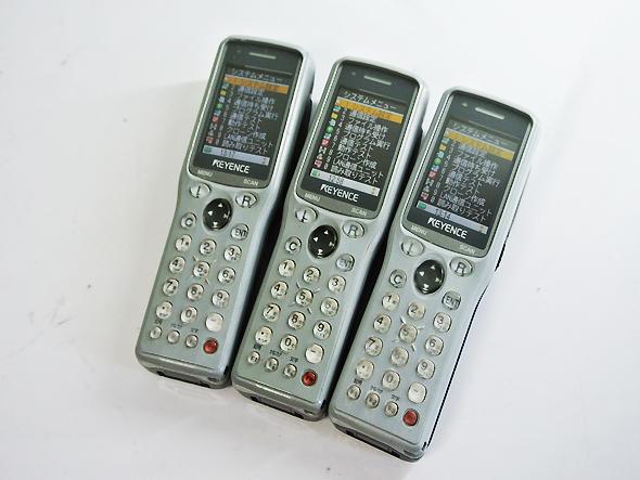 【中古】 キーエンス KEYENCE ハンディーターミナル BT-1000W 中古バッテリー付 無線LAN Wi-Fi 対応 モデル BT-1000シリーズ