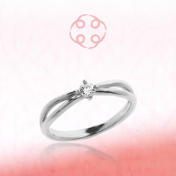 婚約指輪 エンゲージリング プラチナ ダイヤモンド | 繋 tsunagu(むす・ひ・つき -朋々-)【送料無料】【刻印無料】【コンビニ受取対応商品】【10P05Nov16】