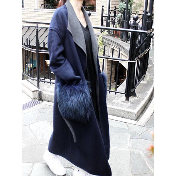 【SALE】【セール】【50%OFF】sfide スフィーデBig fur coat ビッグファーコート レディース アウター【あす楽】【送料無料】