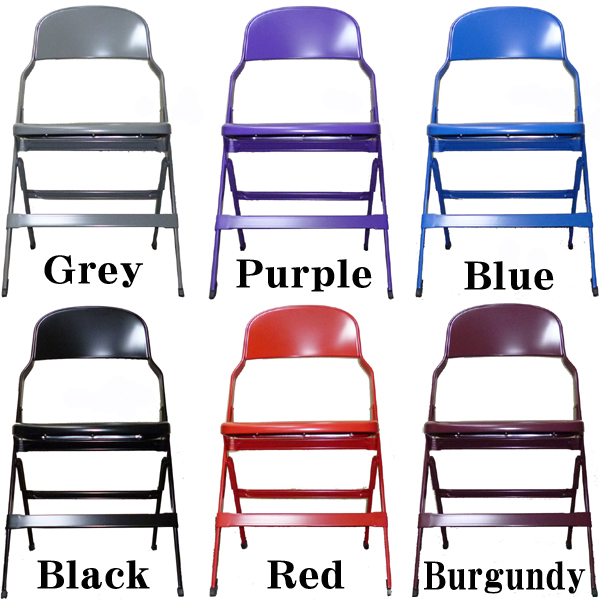 CLARIN IRON FOLDING CHAIR 2000S SERIS 椅子 折りたたみ ダイニングチェアー クラリン社製 アメリカ製