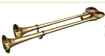 【送料込み】【エアーホーン】NIKKEN(ニッケン) BS482-24(バトルスーパーロングヤンキー(真鍮)) 【500】
