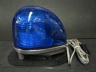 ストロボ式回転灯 ゴムマグネット型 緊急災害時に… 送料込み 即納 一部地域除く KOITO コイト フラッシュライト 12V用 青色 GFL2NBB 高い素材 500